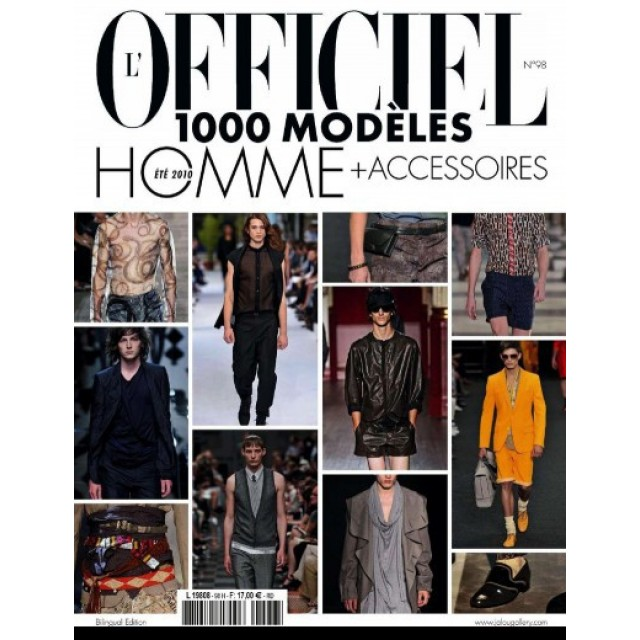 L'officiel 1000 Model Magazine