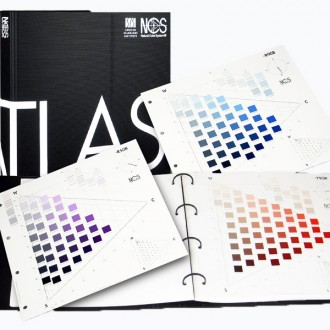 NCS Atlas 1950 Original Color Chart