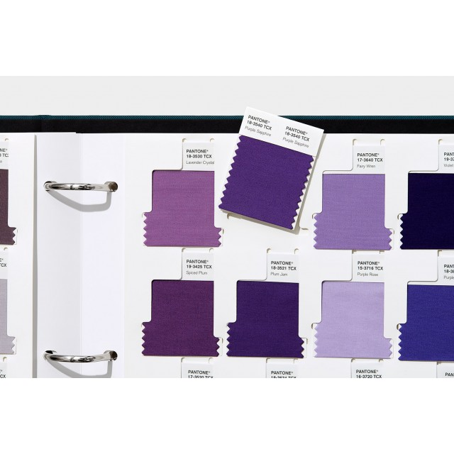 Pantone Cotton Swatch Library- TCX Editions