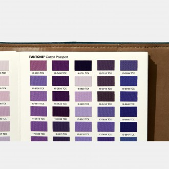 Pantone Cotton Passport TCX Editions