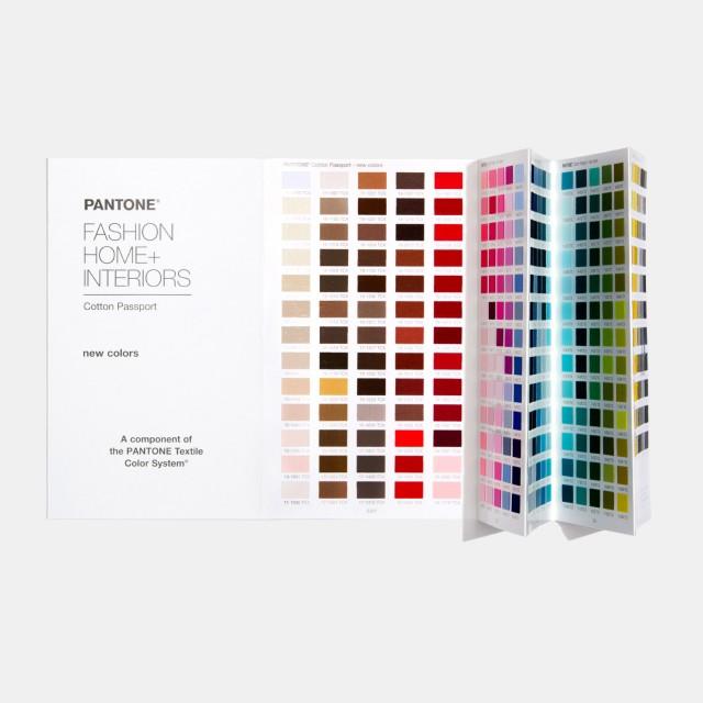 Pantone FHI Cotton Passport Supplement [Pantone TCX]