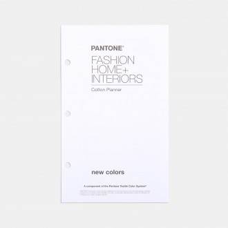 Pantone FHI Cotton Planner Supplement