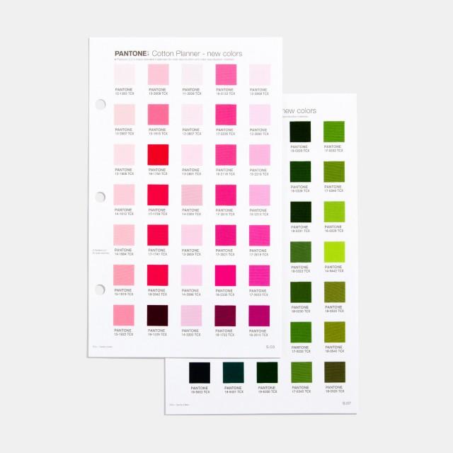 Pantone FHI Cotton Planner Supplement [Pantone TCX]