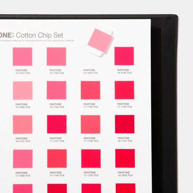 Pantone FHI Cotton Chip Set [Pantone TCX]