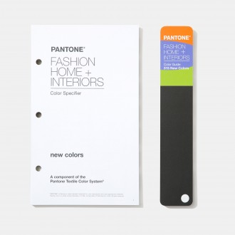 Pantone FHI Specifier & Color Guide Supplement Latest Ed.