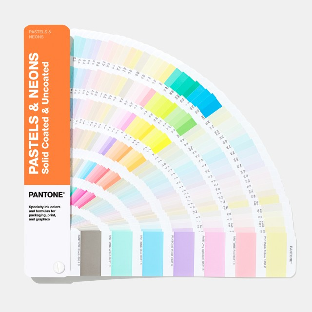 Pantone Pastel & Neon Fan Guide Coated & Uncoated