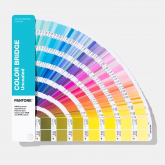 Pantone Color Bridges Uncoated Fan Guide