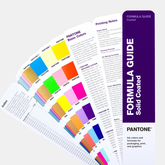 Pantone Formula Guide Coated Amp Uncoated Gp1601a Latest