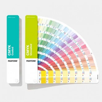 Pantone CMYK Color Fan Guide Coated & Uncoated