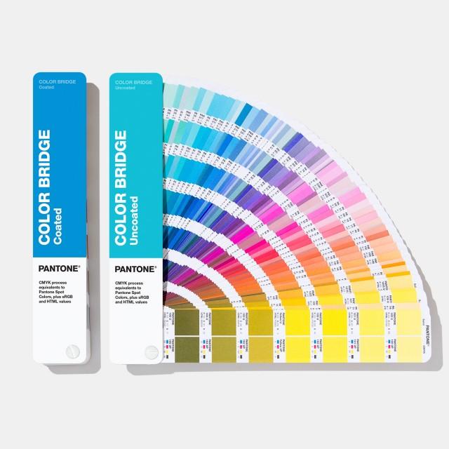 Pantone Color Bridge Guide Set | Coated & Uncoated GP6102A