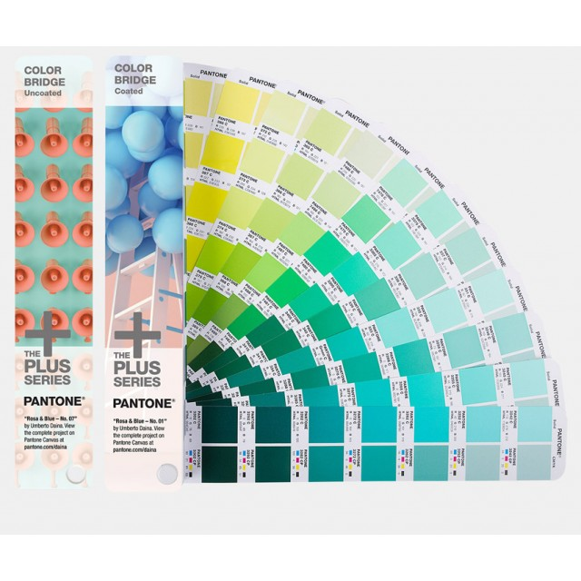 Pantone Color Bridge Coated + Uncoated Fan Guide