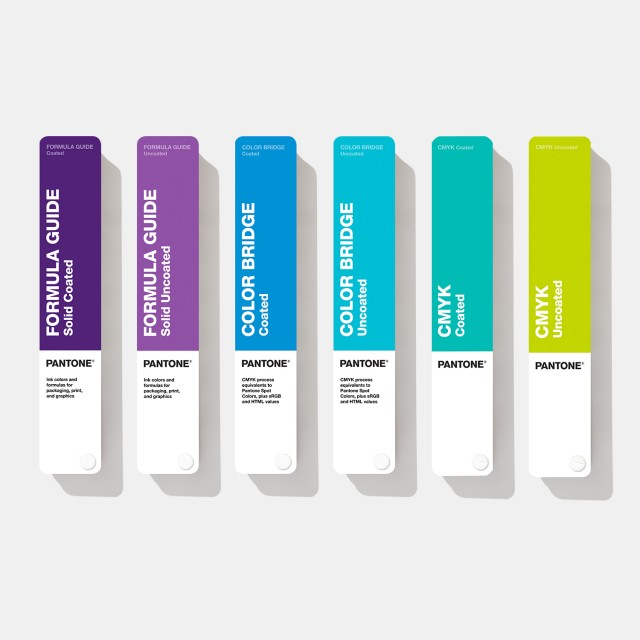 Pantone Essentials – Six Fan Color Guides