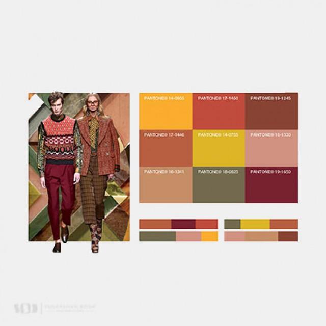 Fashion Snoops Magic Color Card Fall/Winter 2016/2017