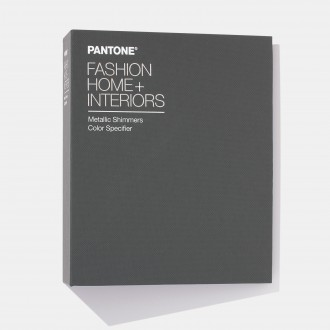 Pantone Fashion, Home + Interiors (FHI) Metallic Shimmers Color Specifier FHIP410N