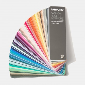 Pantone Fashion, Home & Interiors Metallic Shimmers Color Guide [Pantone FHIP310N]