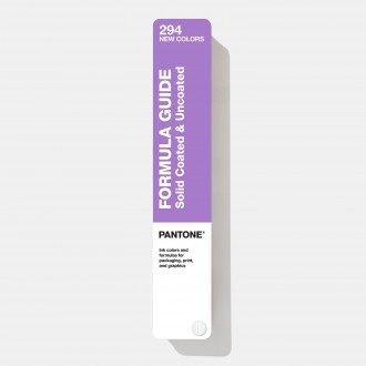 Pantone Formula Guide Supplement | Coated & Uncoated GP1601A-SUPL