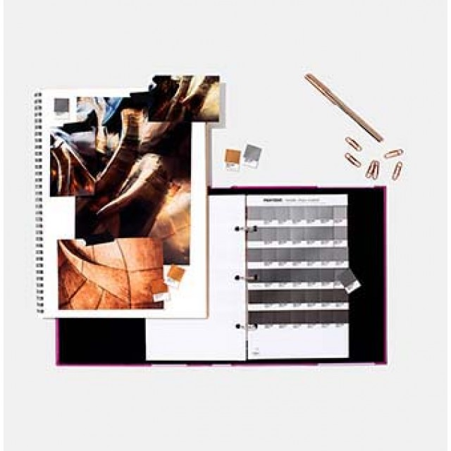 Pantone Metallic Chip Book Coated