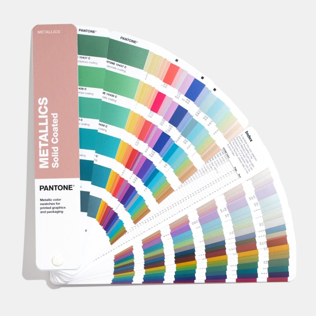 Pantone Metallic Coated Color Fan Guides
