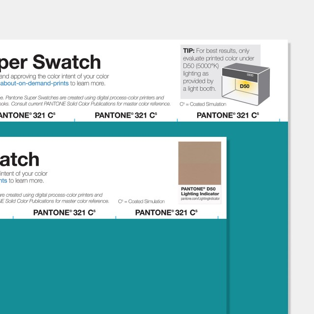 Pantone Super Swatch