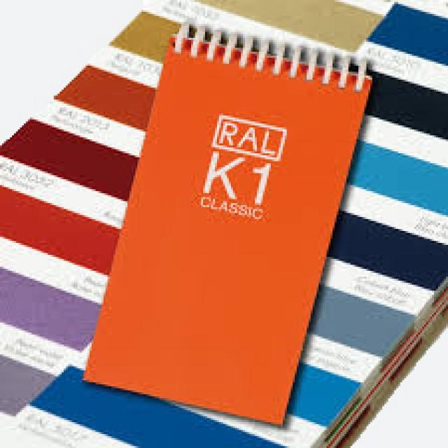 RAL K1 Classic Chart