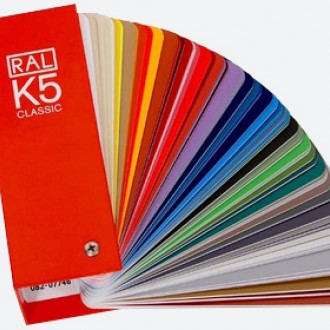 RAL K5 Colour Charts Semi Matte & Gloss Combo