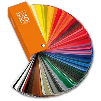 RAL Colours | Ral K5 Fan Deck