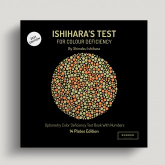 Ishihara's Test  For Colour Deficiency 14 Plates Edition