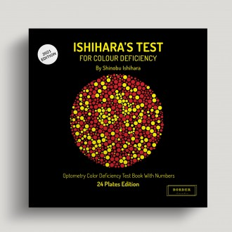Ishihara's Test  For Colour Deficiency 24 Plates Edition