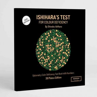 Ishihara's Test  For Colour Deficiency 38 Plates Edition
